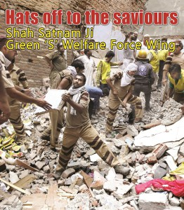 Hats off to the saviours