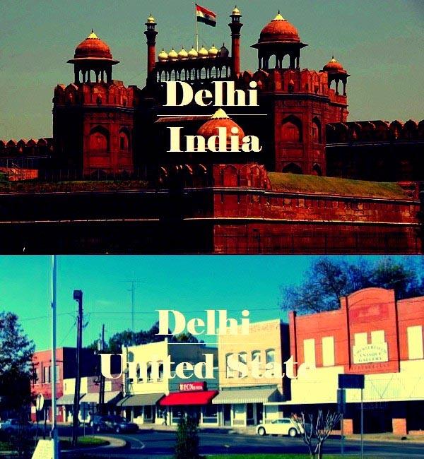 Delhi in India and U.S. - Sachi Shiksha