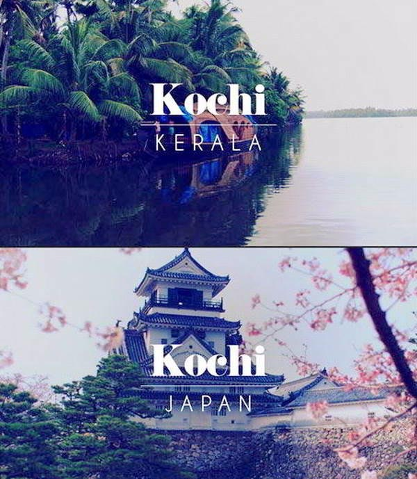 Kochi in Kerala, India and Japan - Sachi Shiksha