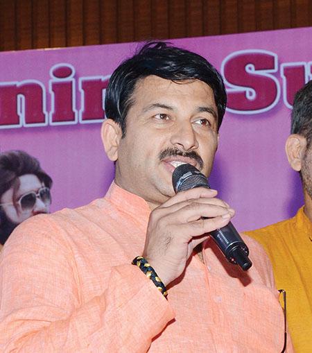 Manoj Tiwari, actor and Delhi BJP President - Sachi Shiksha