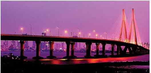 omg facts about india - Bandra Worli Sea Link