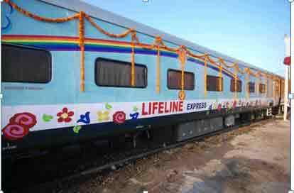 First Hospital Train - omg facts about india