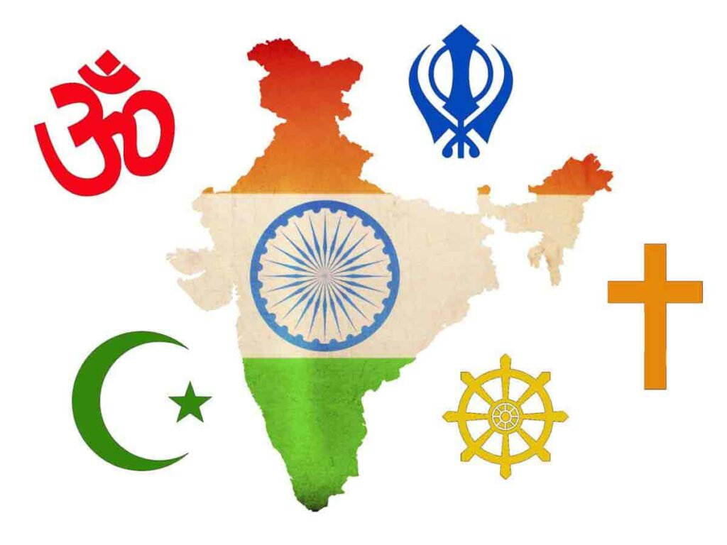 diverse culture in India - Spirituality and Religions - Sachi Shiksha